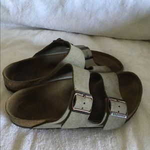 Birkenstock women's Arizona sandals size 38